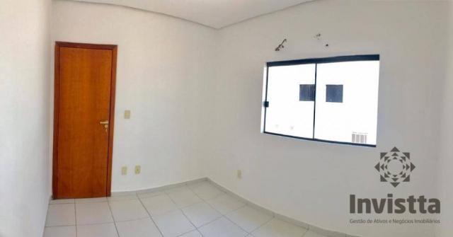 Apartamento com 3 quartos para alugar, 66 m² por r$ 950,00/mês - plano diretor norte - pal - Foto 9