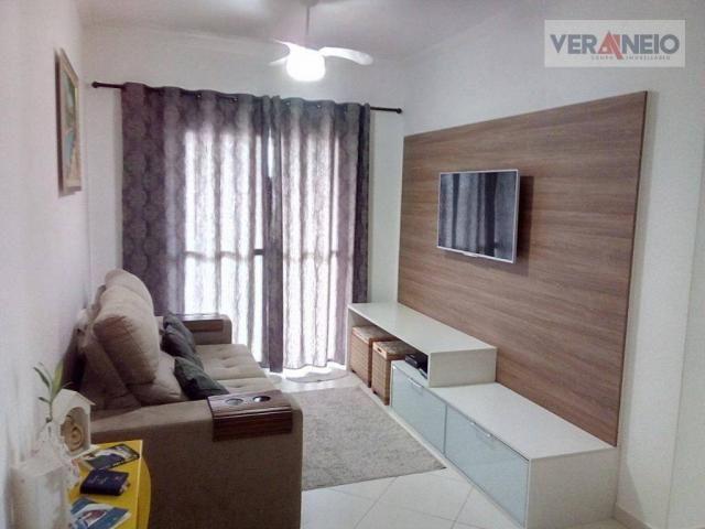 Apartamento com 2 dormitórios à venda, 73 m² por R$ 275.000 - Vila Guilhermina - Praia Gra - Foto 8