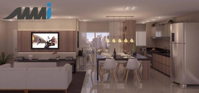 Brava view apartamento com 02 quartos sendo 1 suíte e 63m2 na praia brava - Foto 5