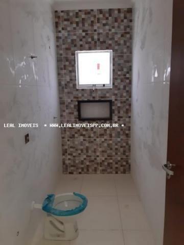 Casa para venda em presidente prudente, parque dos pinheiros, 2 dormitórios, 1 banheiro, 2 - Foto 6
