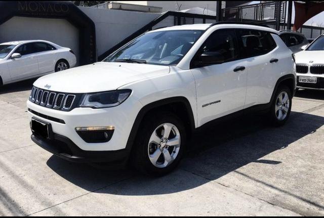 Jeep Compass Sport 35.000 km apenas R$ 85.800,00