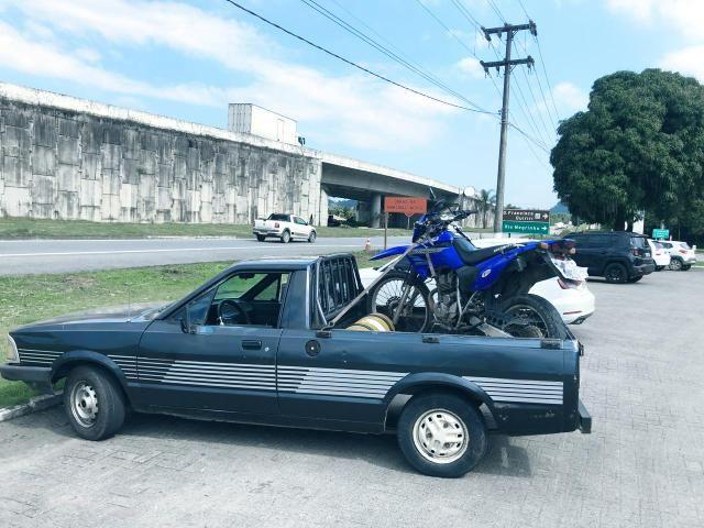 Pampa 91 1.8 ap 3 lugares e GNV legalizado troco moto - Foto 2