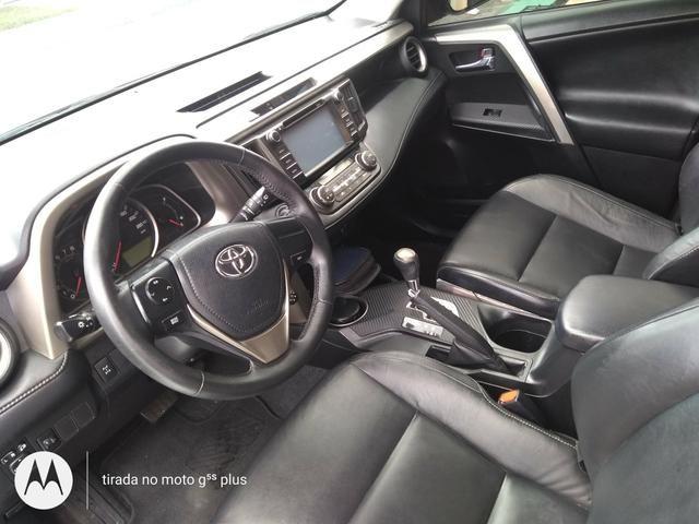 Vendo Toyota RAV4 4x4 conservadíssima!!! - Foto 6