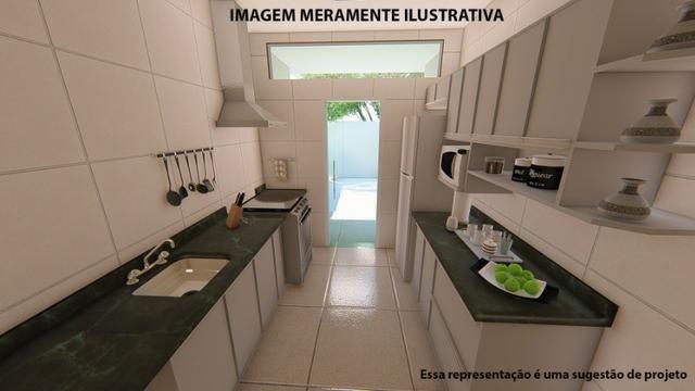 Residência de 70 m² c/ 2 quarto - Jardim Novo Bongiovani - Foto 15