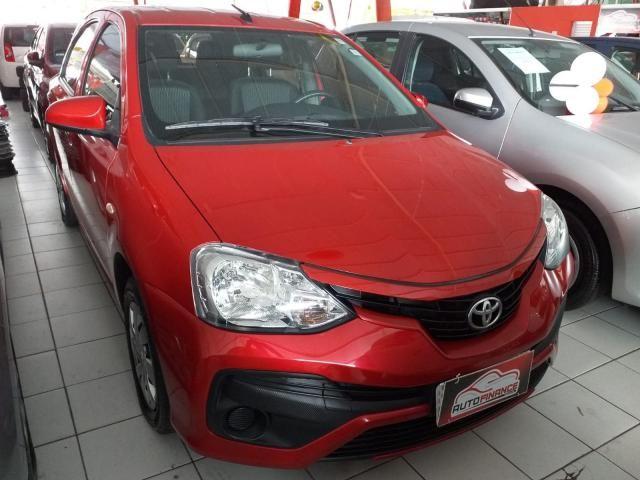 TOYOTA ETIOS 2017/2018 1.3 X 16V FLEX 4P AUTOMÁTICO
