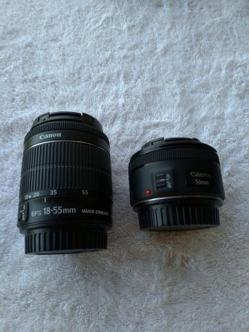 Câmera Canon T5i + Lente 18-55mm + Lente 50mm + Acessórios - Foto 3