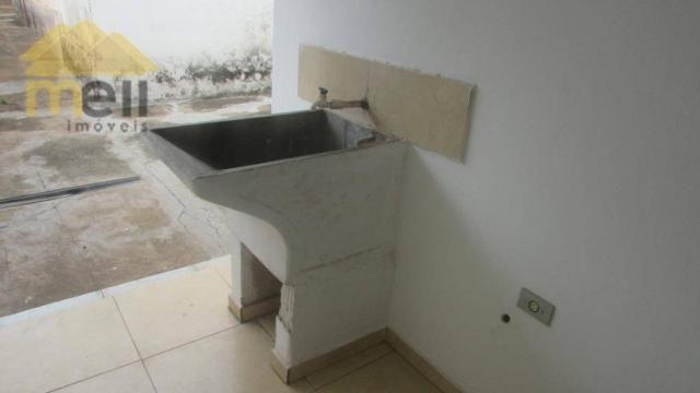 Edícula com 1 dormitório para alugar, 36 m² por R$ 550,00/mês - Vila Malaman - Presidente  - Foto 12