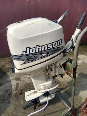 Johnson 35 hp 2001 funcionando