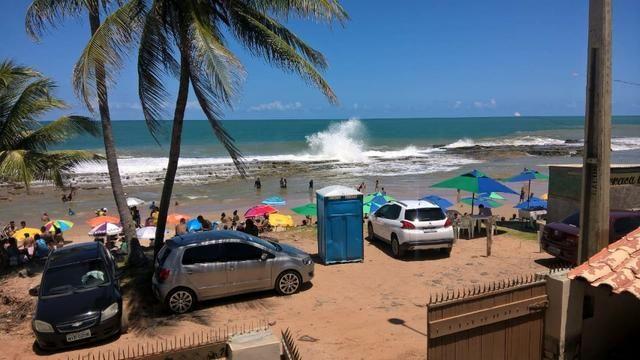 Vendo uma formosa casa, defronte ao mar, em JAUÁ (pé na areia) Valor R$450.000,00 - Foto 12