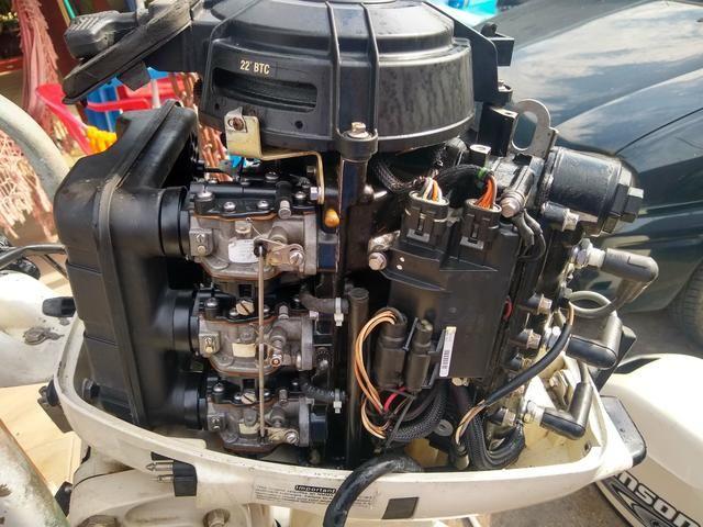 Johnson 35 hp 2001 funcionando - Foto 3