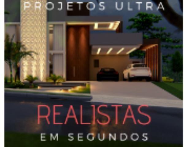 Projetos Ultra Realistas / Curso Apresentação de Projetos Ultra Realistas em Segundos
