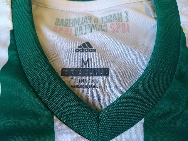 Camisa de futebol Palmeiras Adidas Crefisa - Esportes e ginástica ... 122ff42e166d2