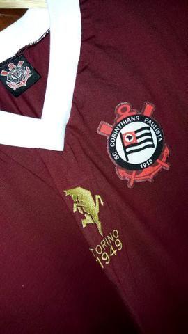 Camisa Retrô Corinthians - Torino 1949 - Esportes e ginástica ... f1d2b81d7ca45