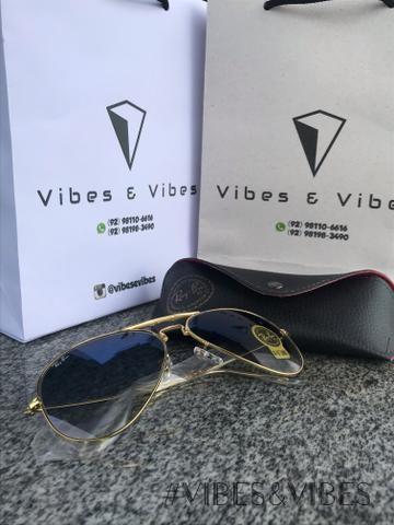 Ray ban de 100  por 80  promoção da loja Vibes e Vibes - Bijouterias ... f7315d6463