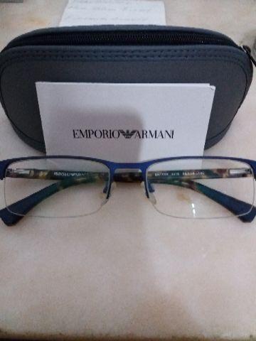 Armação de óculo de grau Empório Armani original - Bijouterias ... 7aac9b431e