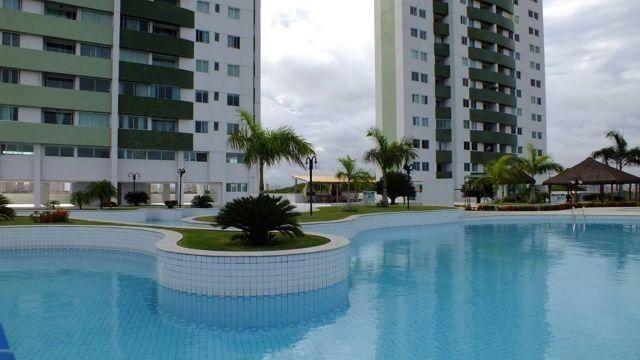 Excelente apartamento, condomínio Luau de Ponta Negra - Foto 3
