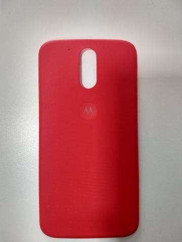 Moto G4 Plus capa (tampa traseira)