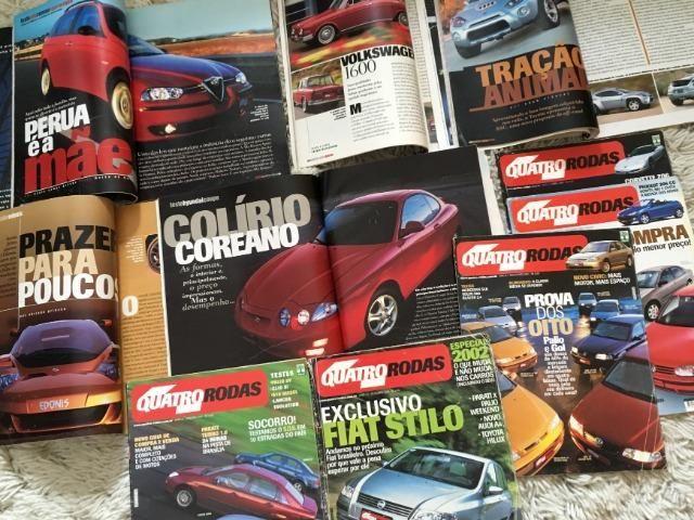 10 Revistas Quatro Rodas Janeiro até Outubro 2001 - Foto 3