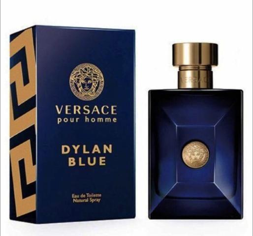 5 x R$: 67,80 Perfume Importado Masculino Versace dylan Blue 100ml