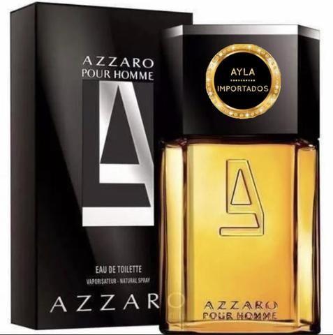 3 x R$: 59,66 Perfume Importado Masculino Azzaro Pour Homme 100ml