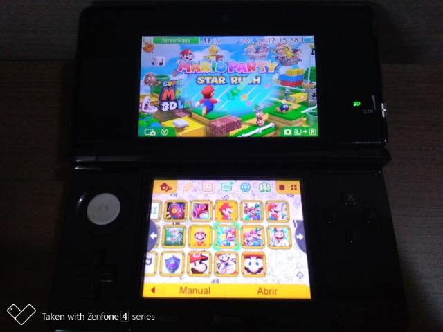 Nintendo 3ds 32gb 40 Jogos Desbloqueado Com Garantia
