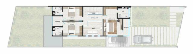 Casas de alto padrão no eusébio 4 suítes 3 vagas fina acabamento - Foto 2