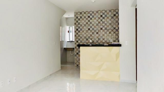 Lindo apartamento com fino acabamento 50 m2 , 02 suítes todo no porcelanato - Foto 5