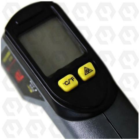Termômetro Digital Infravermelho Celsius ou Fahrenheit -20°C ~ 320°C a Bateria - Noll