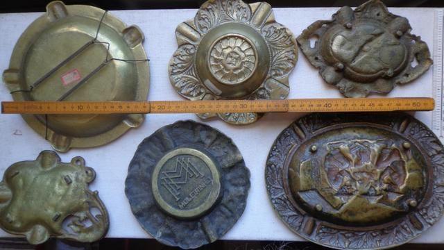 """Cinzeiros de Escritorio em Bronze """"Holland"""" Decoração - Foto 5"""