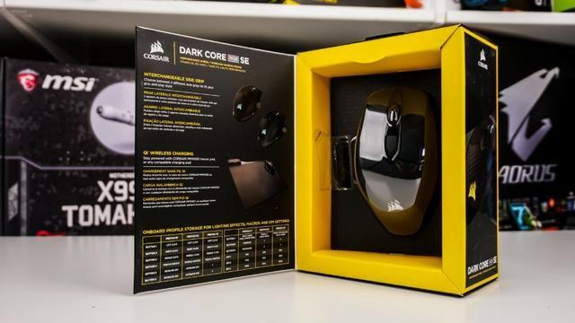Mouse Gamer Corsair Dark Core SE, Wireless, RGB, 16000 DPI - Foto 2