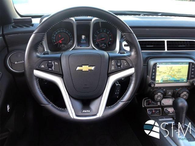 GM Chevrolet Camaro SS 6.2 Conversível V8 - TOP - 2014 - Foto 9