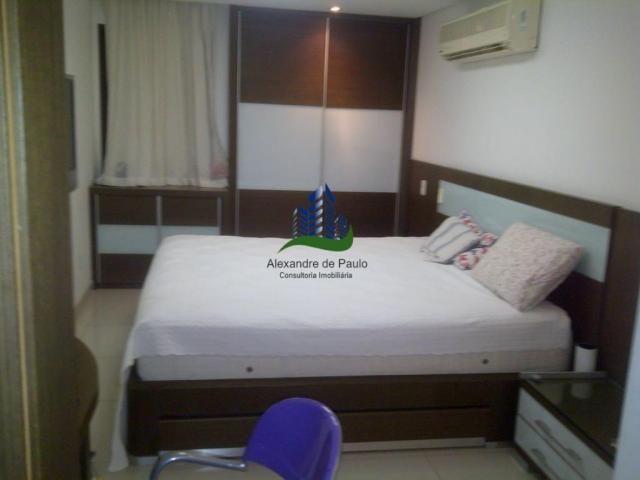 Apartamento alto luxo, 4 quartos, beira mar de candeias - Foto 7