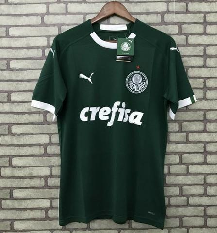 Camisa Puma Palmeiras Verde e Branca Modelo 2019 - Foto 3