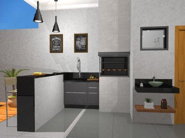 Casa com 03 quartos sendo 01 suíte com closet - Foto 2