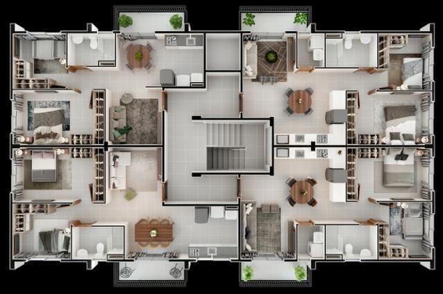 Apartamento com 2 dormitórios MCMV - Foto 5