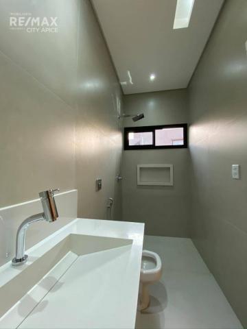 Casa térrea com 3 suítes - Alphaville 2 - Campo Grande/MS - Foto 4