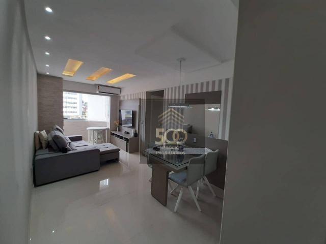 Apartamento com 2 dormitórios à venda, 60 m² por R$ 350.000 - Coqueiros - Florianópolis/SC - Foto 2