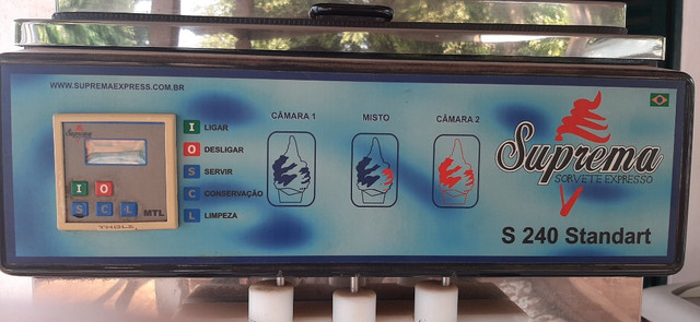 Máquina de sorvete italiano - Foto 3
