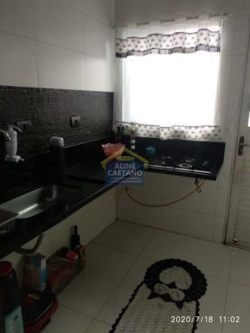 Casa à venda com 2 dormitórios em Tupi, Praia grande cod:AC763 - Foto 12