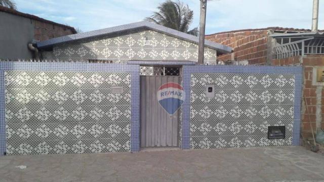 Casa com 2 dormitórios à venda, 60 m² por R$ 60.000,00 - Municípios - Santa Rita/PB
