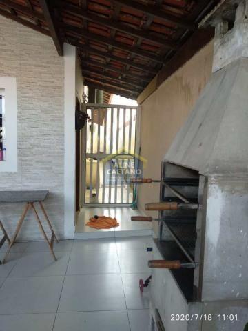 Casa à venda com 2 dormitórios em Tupi, Praia grande cod:AC763 - Foto 3