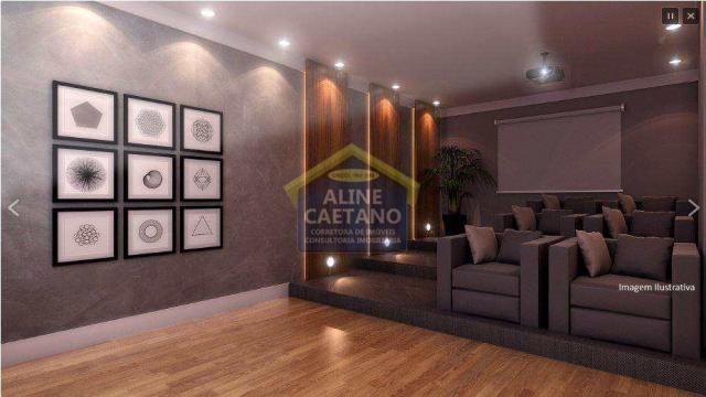 Apartamento à venda com 2 dormitórios em Guilhermina, Praia grande cod:JG07477 - Foto 2