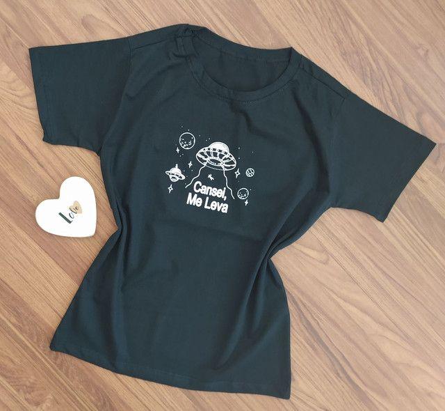 T-shirt Feminina - Foto 2