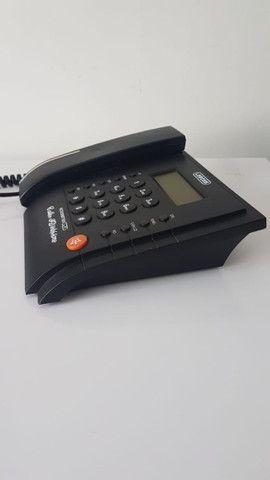 Telefone fixo com Identificador de Chamadas Memória Viva Voz - Foto 4