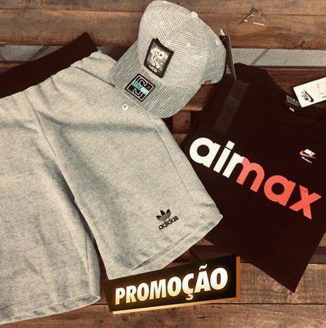 Promoção - Kit Hype complero (Bermuda + Moletim + Camiseta) (Para revenda!)