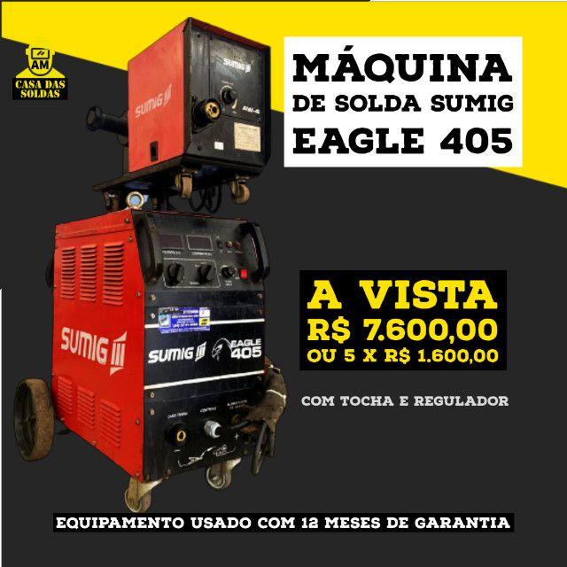 Máquina de Solda Sumig Eagle 405