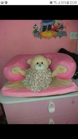 Almofada de assento pra bebê