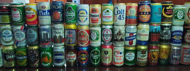 Coleção latas de cerveja antigas - Foto 5