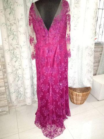 Vestido Luzia. Ateliê Silma Pontes - Foto 2