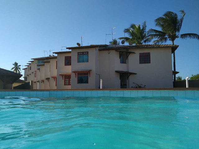 Apartamento na frente da praia em Guaibim-Ba